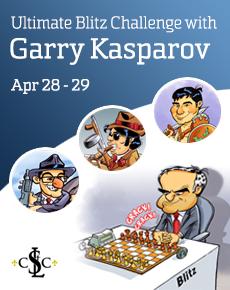 chess24 | Ultimate Blitz Challenge con Garry Kasparov